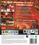 Overlord: Raising Hell PS3 cover (BLES00257)