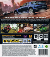 Midnight Club: Los Angeles PS3 cover (BLES00362)
