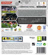 Pro Evolution Soccer 2011 PS3 cover (BLES01022)
