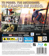The Amazing Spider-Man PS3 cover (BLES01547)