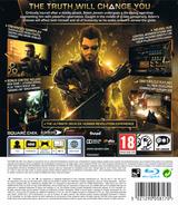 Deus Ex: Human Revolution Director's Cut PS3 cover (BLES01928)