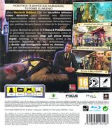 Sherlock Holmes: Crimes & Punishments PS3 cover (BLES02000)