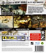 Tom Clancy's Splinter Cell: Double Agent pochette PS3 (BLES00024)