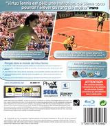 Virtua Tennis 3 pochette PS3 (BLES00027)