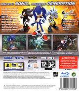 Sonic the Hedgehog pochette PS3 (BLES00028)