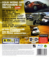 Colin McRae: DiRT pochette PS3 (BLES00095)