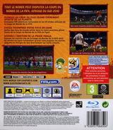 Coupe du Monde de la FIFA:Afrique du Sud 2010 pochette PS3 (BLES00796)