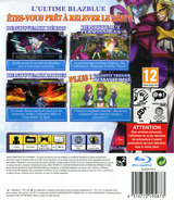 BlazBlue: Continuum Shift: Extend pochette PS3 (BLES01487)