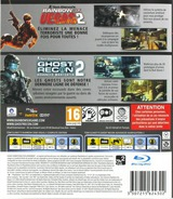 Tom Clancy's Rainbow Six Vegas 2 (Complete Edition) + Ghost Recon Advanced Warfighter 2 (Double Pack) pochette PS3 (BLES01590)