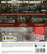 The Walking Dead: Survival Instinct pochette PS3 (BLES01779)