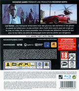 Grand Theft Auto V pochette PS3 (BLES01807)