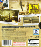 Blazing Angels: Squadrons of WWII PS3 cover (BLUS30006)