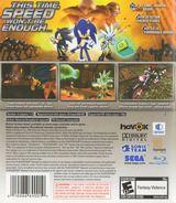 Sonic the Hedgehog PS3 cover (BLUS30008)