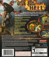 Hellboy: Science of Evil PS3 cover (BLUS30048)
