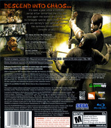 Condemned 2: Bloodshot PS3 cover (BLUS30115)