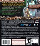 Eat Lead: The Return of Matt Hazard PS3 cover (BLUS30267)