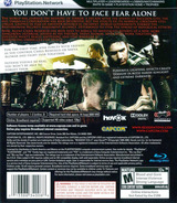 Resident Evil 5 PS3 cover (BLUS30270)