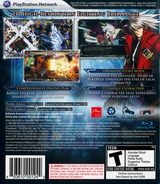 BlazBlue: Calamity Trigger PS3 cover (BLUS30392)