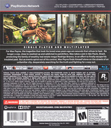 Max Payne 3 PS3 cover (BLUS30557)