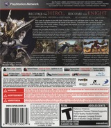 White Knight Chronicles II PS3 cover (BLUS30784)