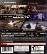 007 Legends PS3 cover (BLUS30983)