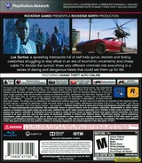 Grand Theft Auto V PS3 cover (BLUS31156)