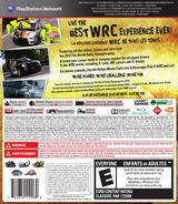 WRC 3: Fia World Rally Championship PS3 cover (BLUS31168)
