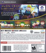 South Park: The Stick of Truth PS3 cover (BLUS31191)