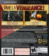 Saboteur PS3 cover (BLUS30407)