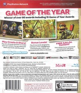 LittleBigPlanet (Game of the Year Edition) PS3 cover (BCUS98208)