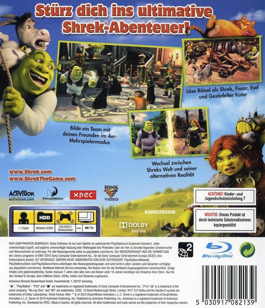 Für Immer Shrek PS3 backHQ (BLES00837)