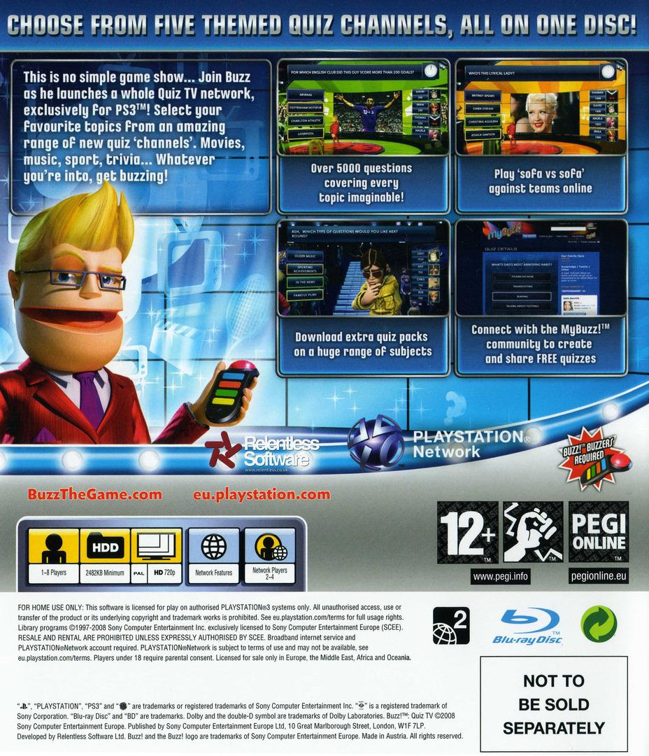 Buzz! Quiz TV PS3 backHQ (BCES00098)