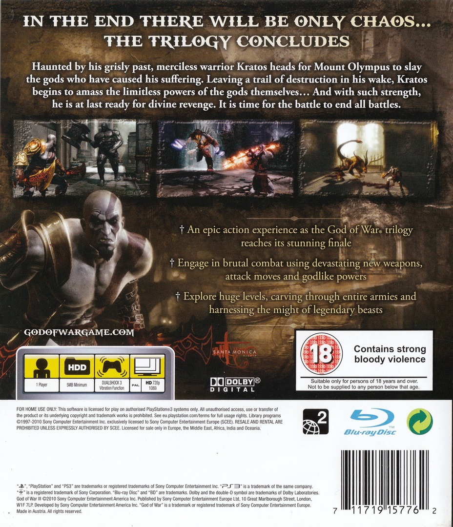 God of War III PS3 backHQ (BCES00799)