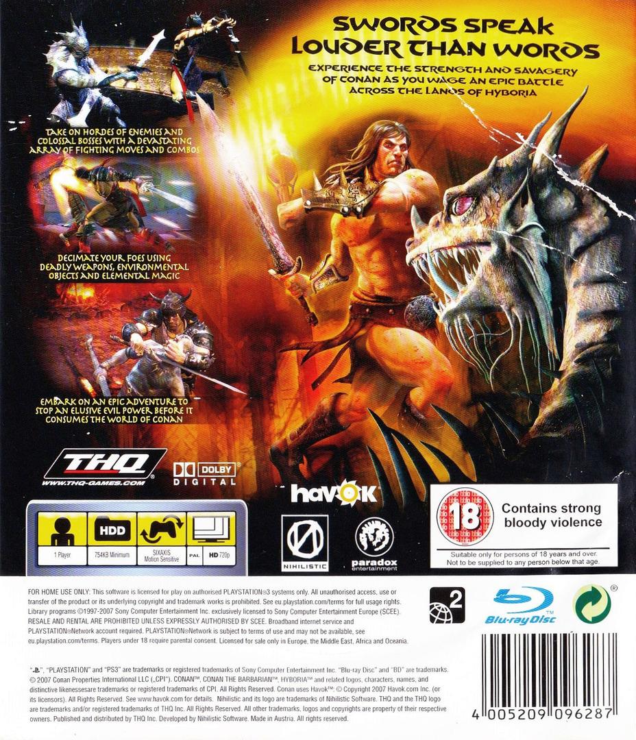 Conan PS3 backHQ (BLES00076)