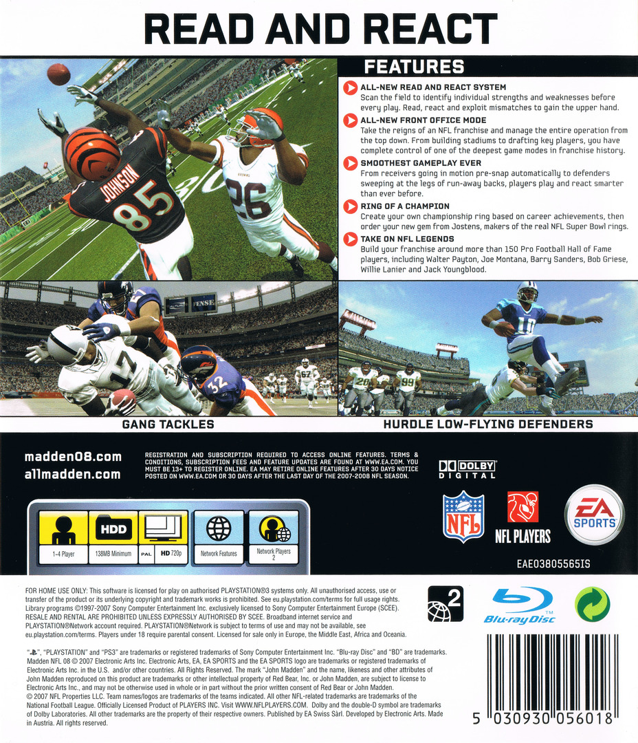 Madden NFL 08 PS3 backHQ (BLES00102)