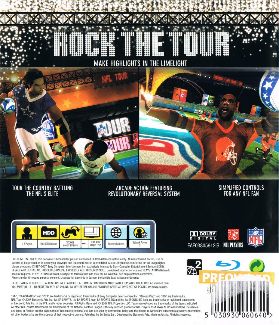 NFL Tour PS3 backHQ (BLES00218)