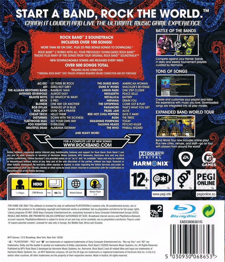 Rock Band 2 PS3 backHQ (BLES00385)
