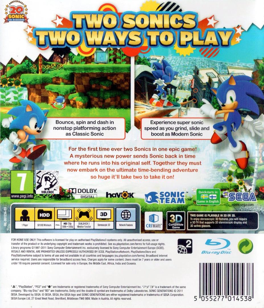 Sonic Generations PS3 backHQ (BLES01236)