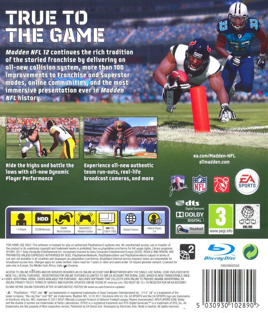 Madden NFL 12 PS3 backHQ (BLES01320)