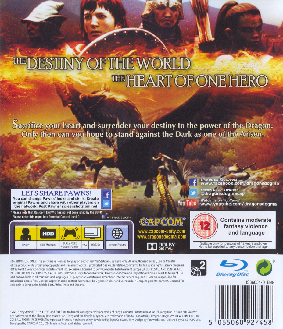 Dragon's Dogma PS3 backHQ (BLES01356)