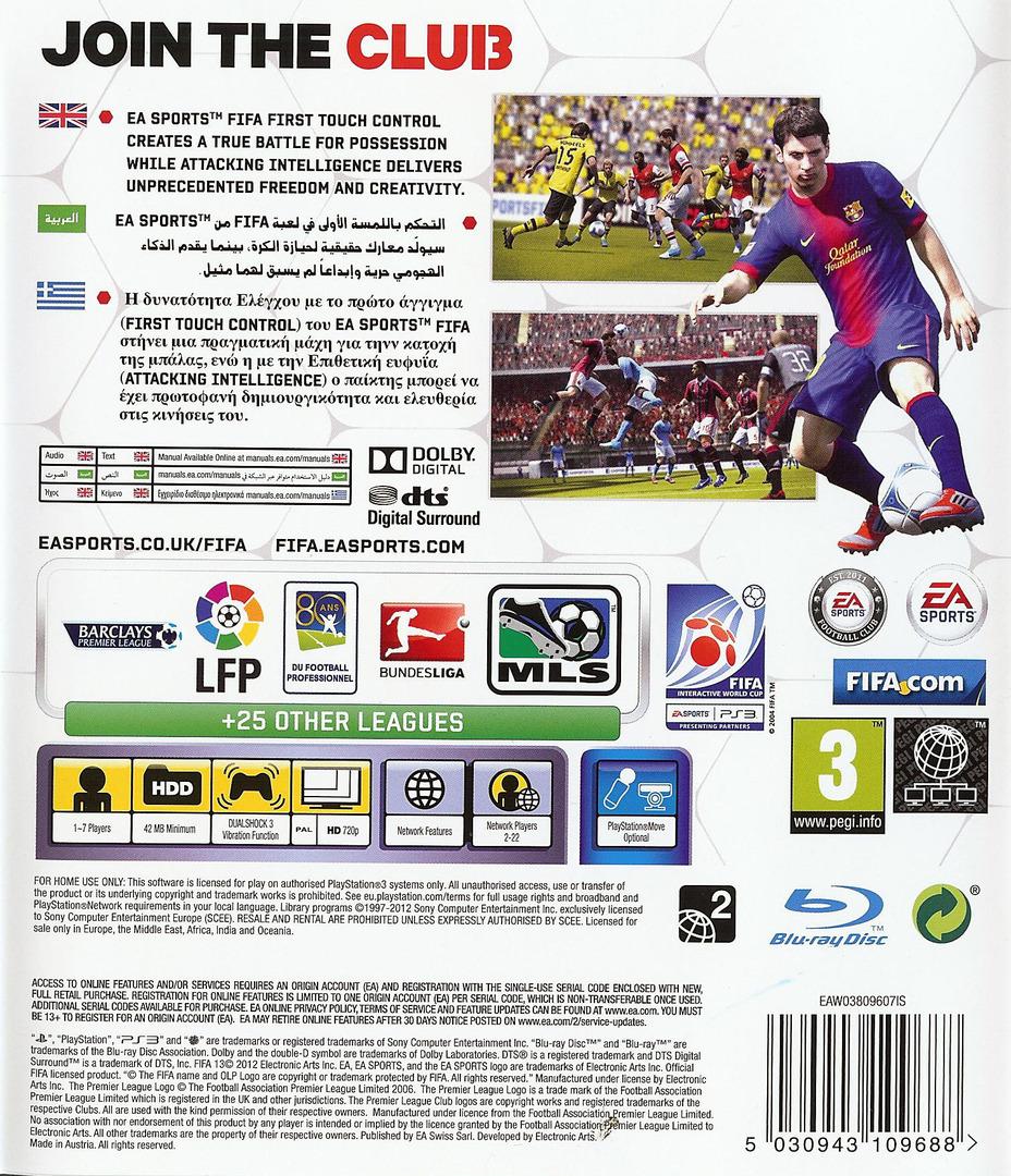 FIFA 13 PS3 backHQ (BLES01677)