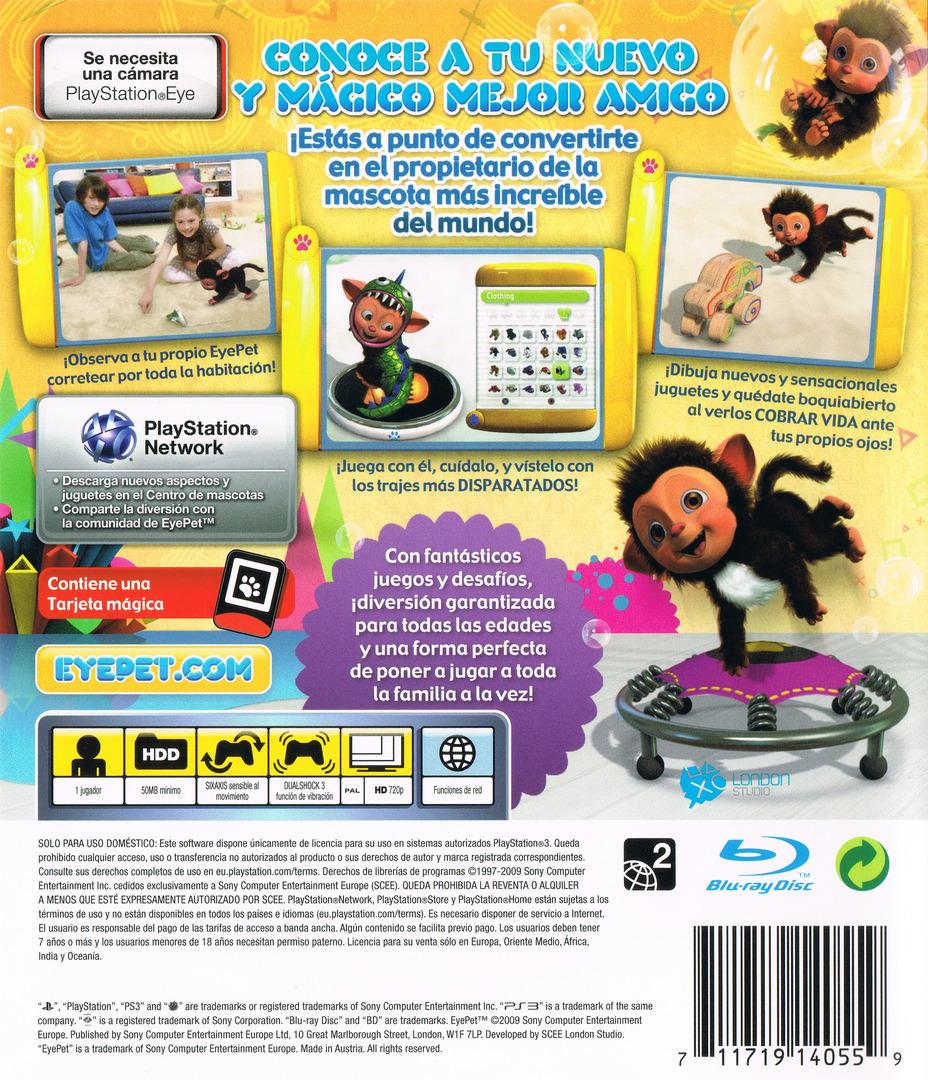 EyePet PS3 backHQ (BCES00483)