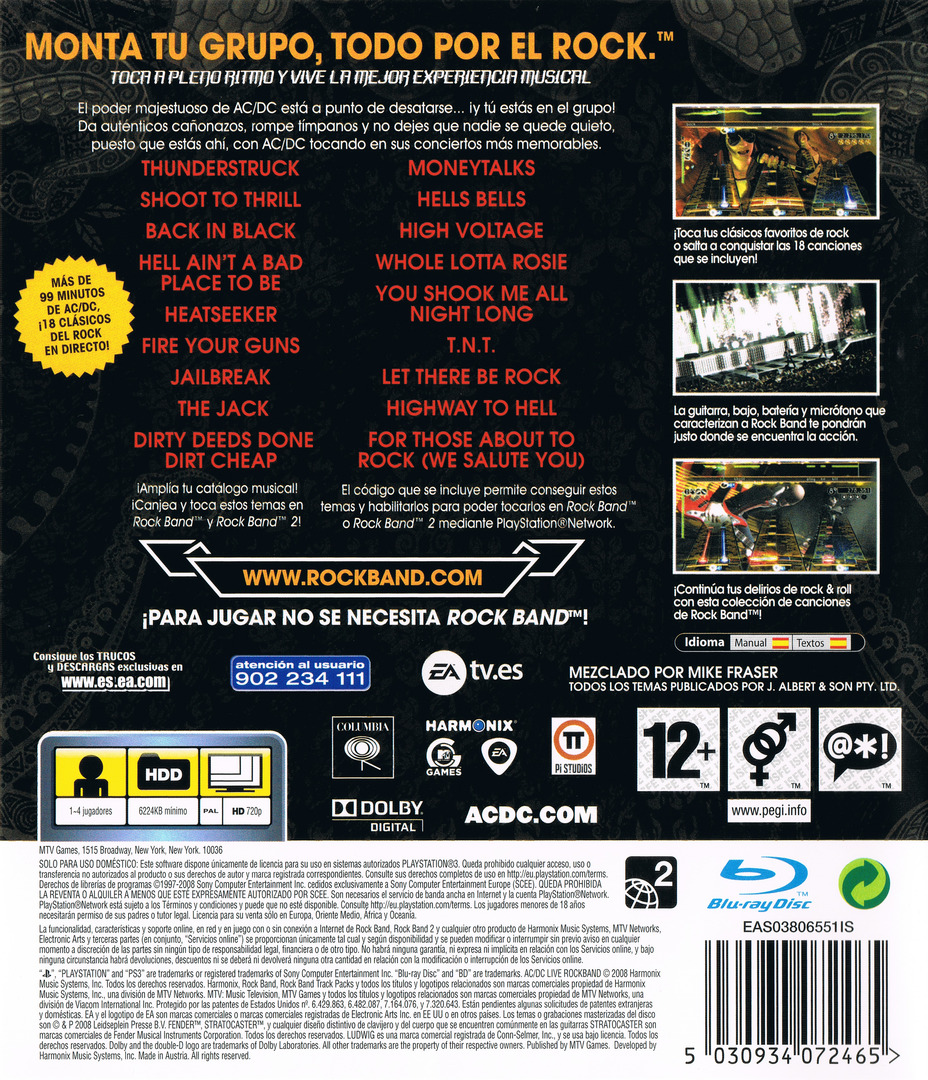 AC/DC Live: Rock Band PS3 backHQ (BLES00453)
