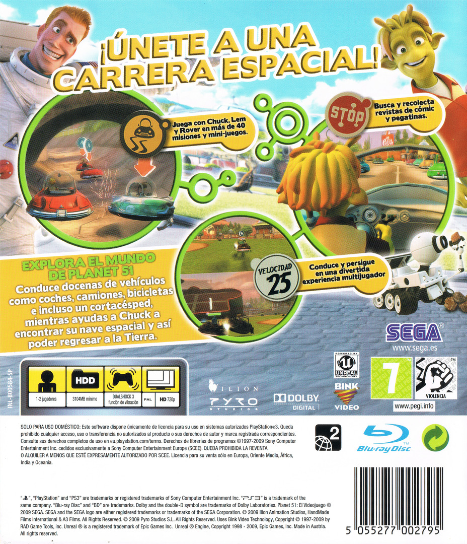 Planet 51 PS3 backHQ (BLES00584)