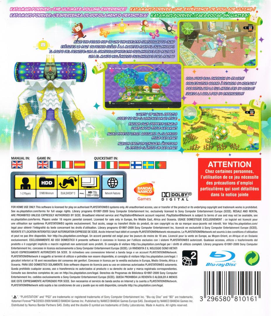 PS3 backHQ (BLES00658)