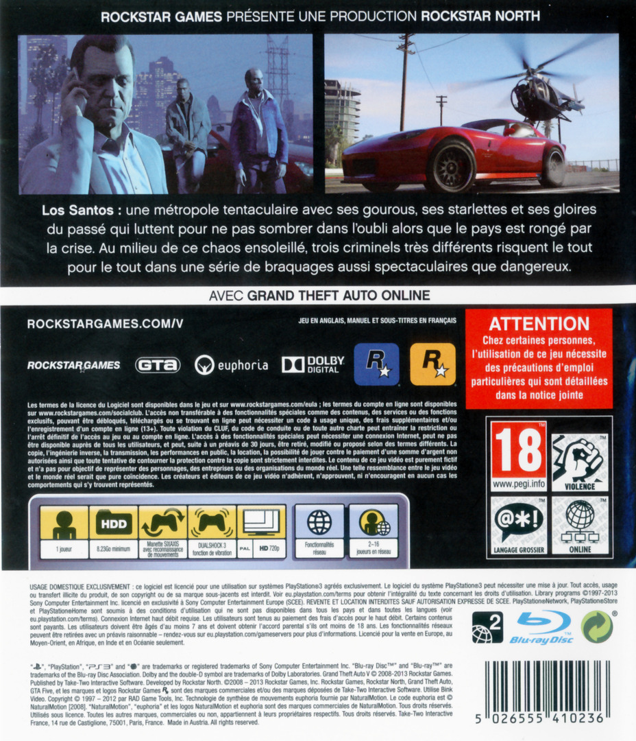 PS3 backHQ (BLES01807)