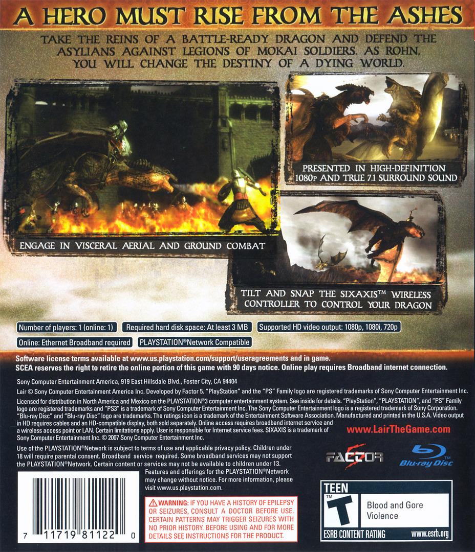 Lair PS3 backHQ (BCUS98112)