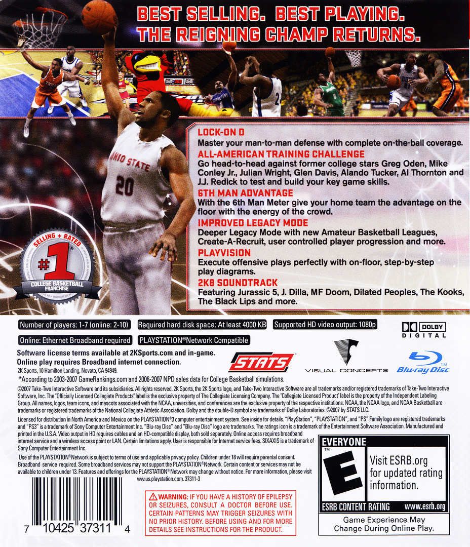 College Hoops 2K8 PS3 backHQ (BLUS30078)
