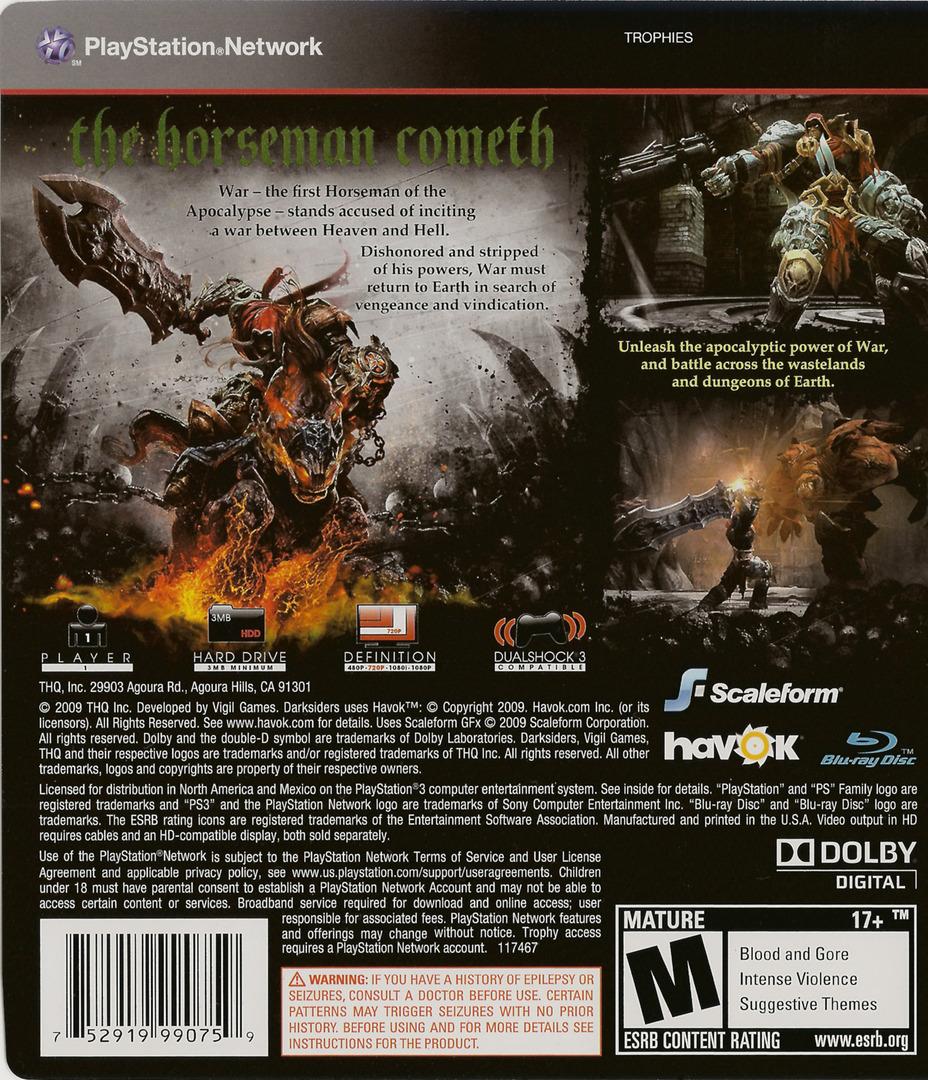Darksiders PS3 backHQ (BLUS30320)