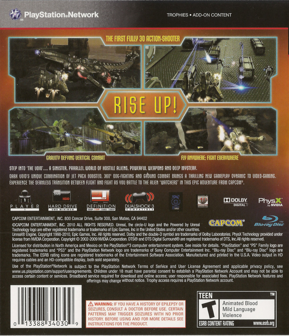 Dark Void PS3 backHQ (BLUS30323)